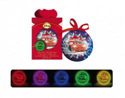 Decoratiune ''CARS'' glob cu led, 7.5 cm
