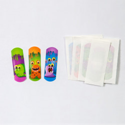 """Plasturi copii """"Monstri Mici'', 10 buc"""