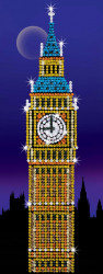 "Set creativ Sequin Art Strictly ""Big Ben"""
