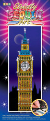 "Set creativ Sequin Art Strictly ""Big Ben"""