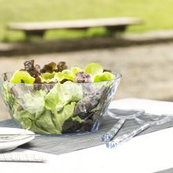 Ustensile pentru salata, verde, CRYSTAL SALAD