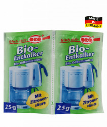 Pudra BIO decalcifiere electrocasnice, 2x25 gr