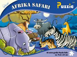 Puzzle Africa Safari 48 piese, 91,5x61 cm