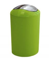 Cos de gunoi cu capac batant 5 l, verde