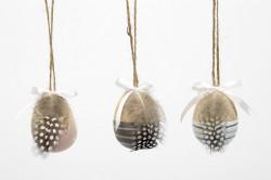 Decoratiune ou de agatat din lemn