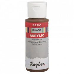 Vopsea acrilica - maro castaniu, 59 ml
