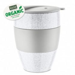 Cana cafea alb cu gri 0.4 L, AROMA TO GO 2