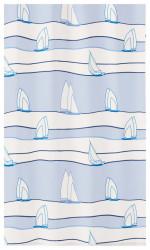 Perdea dus Sail, material textil, 180/200 cm