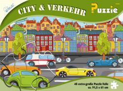 Puzzle Oras 48 piese, 91,5x61 cm