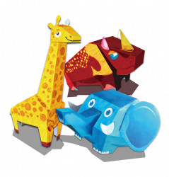 Set creativ origami 3 animale