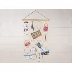 Accesoriu decorativ cu fir si clipsuri pentru agatat