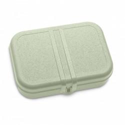 Cutie pentru pranz verde cu separator, PASCAL