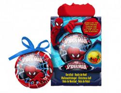 Decoratiune ''SPIDER-MAN'' glob cu led, 7.5 cm