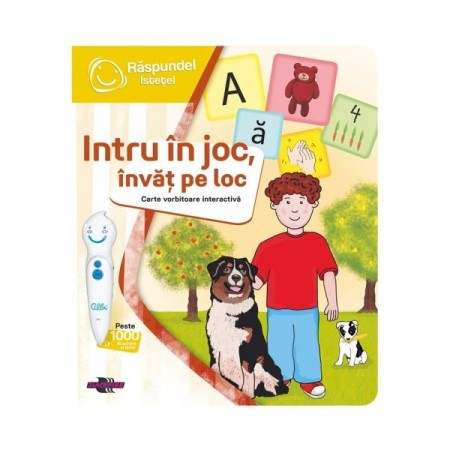Carte Intru In Joc Invat Pe Loc - Raspundel Istetel