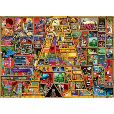 Puzzle Alfabet, Litera A, 1000 Piese