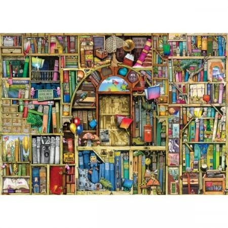 Puzzle Libraria Bizara 2, 1000 Piese