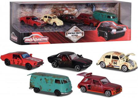 Set 5 Masinute Vintage Rusty