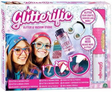 Set De Aplicare si Aspirare Glitter, Glitterific