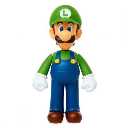 Figurina Mario Nintendo - model Standing Luigi, 6 cm