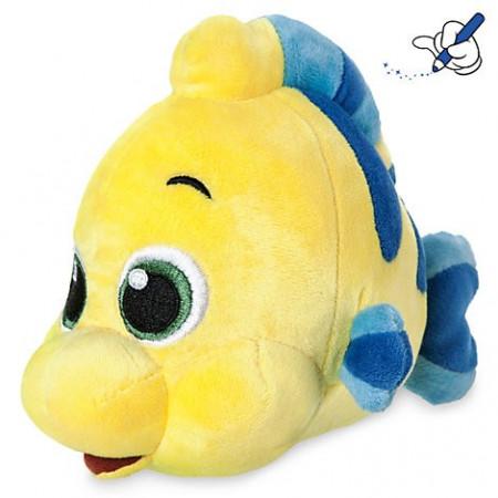 Plus Pestisorul Flounder din Mica Sirena