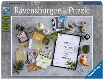 Poze PUZZLE 'START LIVING YOUR DREAM', 1000 PIESE