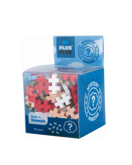 Set de constructie Plus Plus Mystery-Supererou 50 Pcs