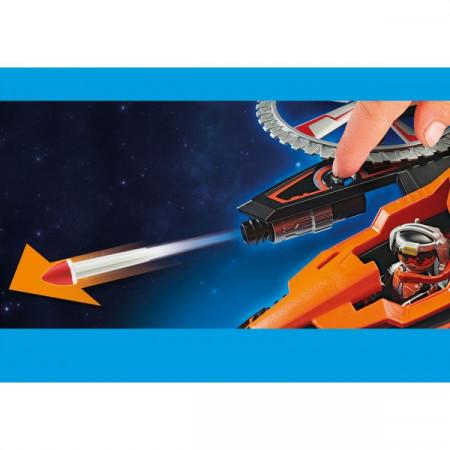 Set de joaca Playmobil, Elicopterul Piratilor Galactici