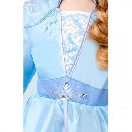 Costum Deluxe Elsa De Calatorie - Frozen 2 - Marime L