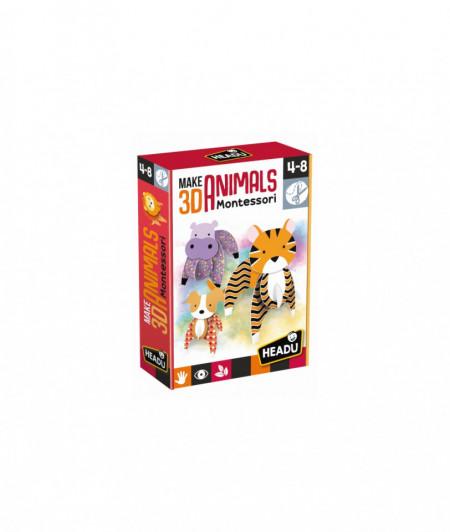 Montessori Animale 3D