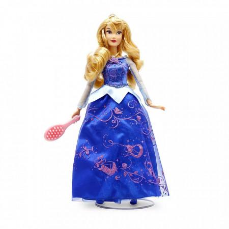 Papusa premium Printesa Disney Aurora cu sunete si lumini