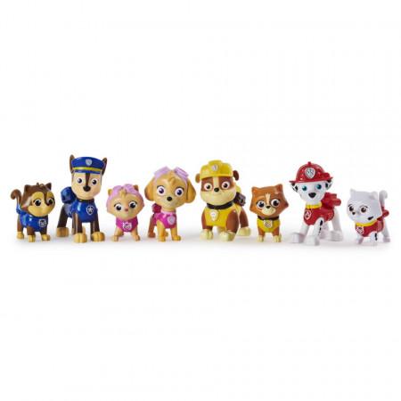 Patrula Catelusilor Set 8 Figurine Seria Pisicutele Nazdravane