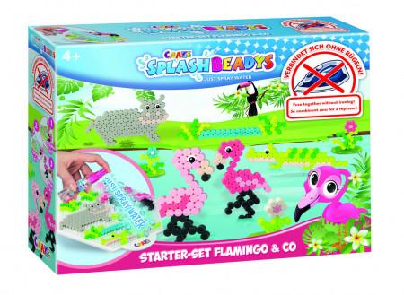 Set de creatie cu margele - model Flamingo