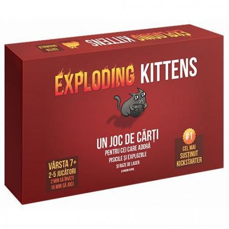Joc Exploding Kittens