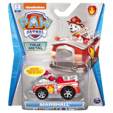 Patrula Catelusilor Masinuta Metalica A Pompierului Marshall