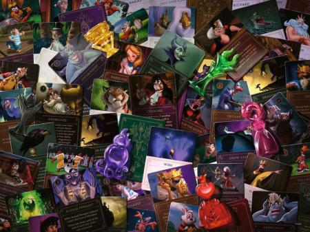 Puzzle Villainous Personaje, 2000 Piese
