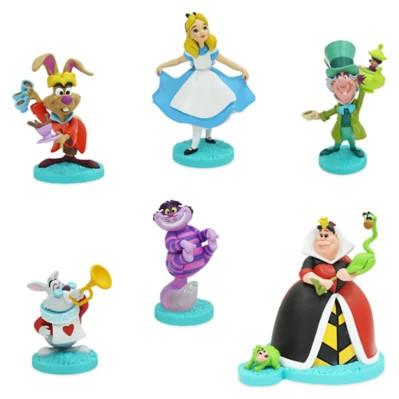 Set figurine Disney Alice in Tara Minunilor