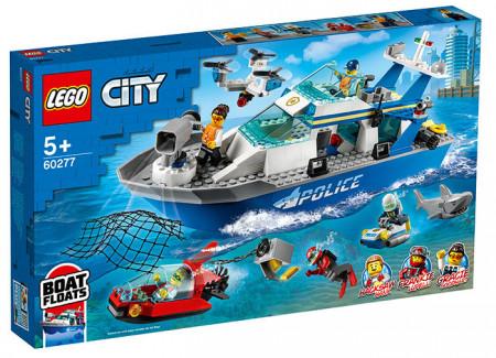 Barca de patrula a politiei