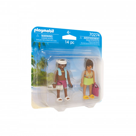 Playmobil Set 2 Figurine Cuplu La Plaja