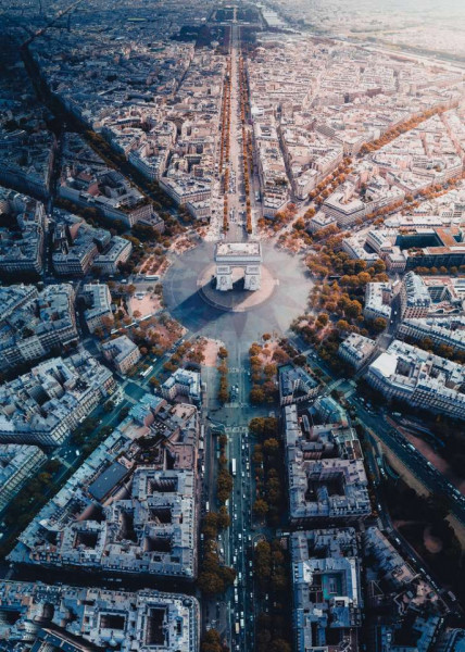 Puzzle Arc Triumf Paris, 1000 Piese