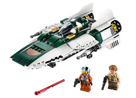 Resistance A-Wing Starfighter (75248)