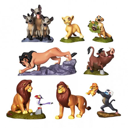 Set Figurine Deluxe The Lion King