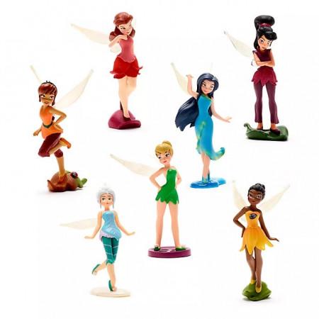 Set figurine TinkerBell si Zanele Disney