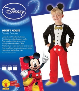 Poze Costum clasic Mickey Mouse (Marime S)