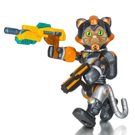 Figurina Roblox Celebrity, model Cats In Space Sergeant Tabs