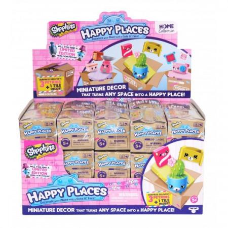 Pachet surpriza cu figurine Happy Places Shopkins