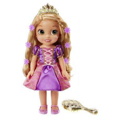 Papusa Rapunzel cu par magic