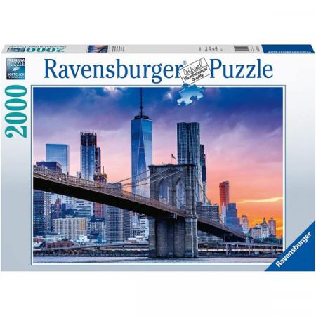 Puzzle Apus Pod New York, 2000 Piese
