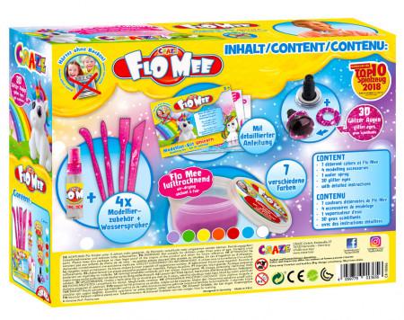 Set de joaca cu plastelina - model Unicorn