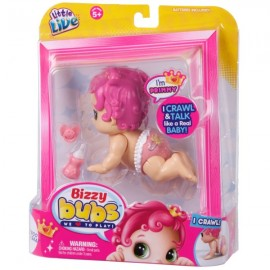 Poze Bebelus interactiv Little Live Bizzy Bubs - Primmy