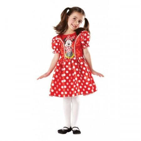 Costum clasic Minnie Mouse Rosu (Marime L)